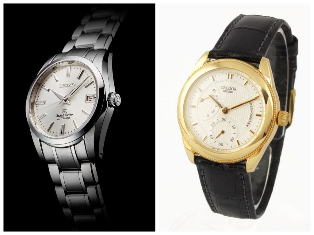 403cdd5a331 Grand Seiko and Credor are two of the high-end brands of Seiko. Even though  Grand Seiko and Credor are becoming more well known and popular